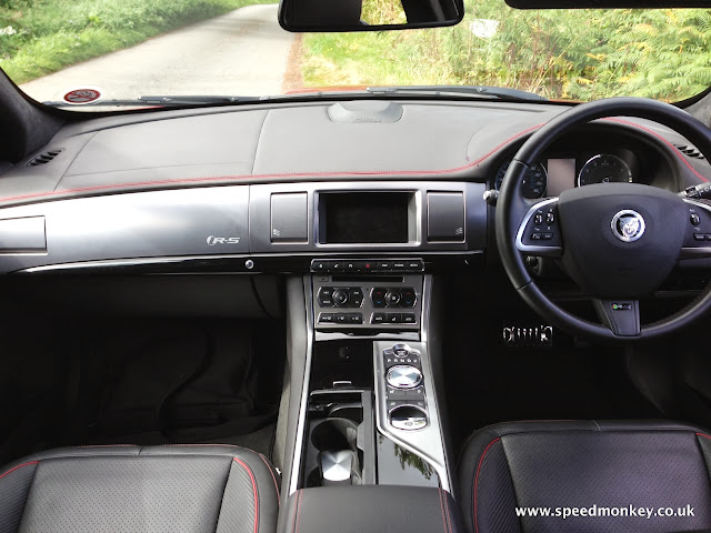 Jaguar XFRS interior