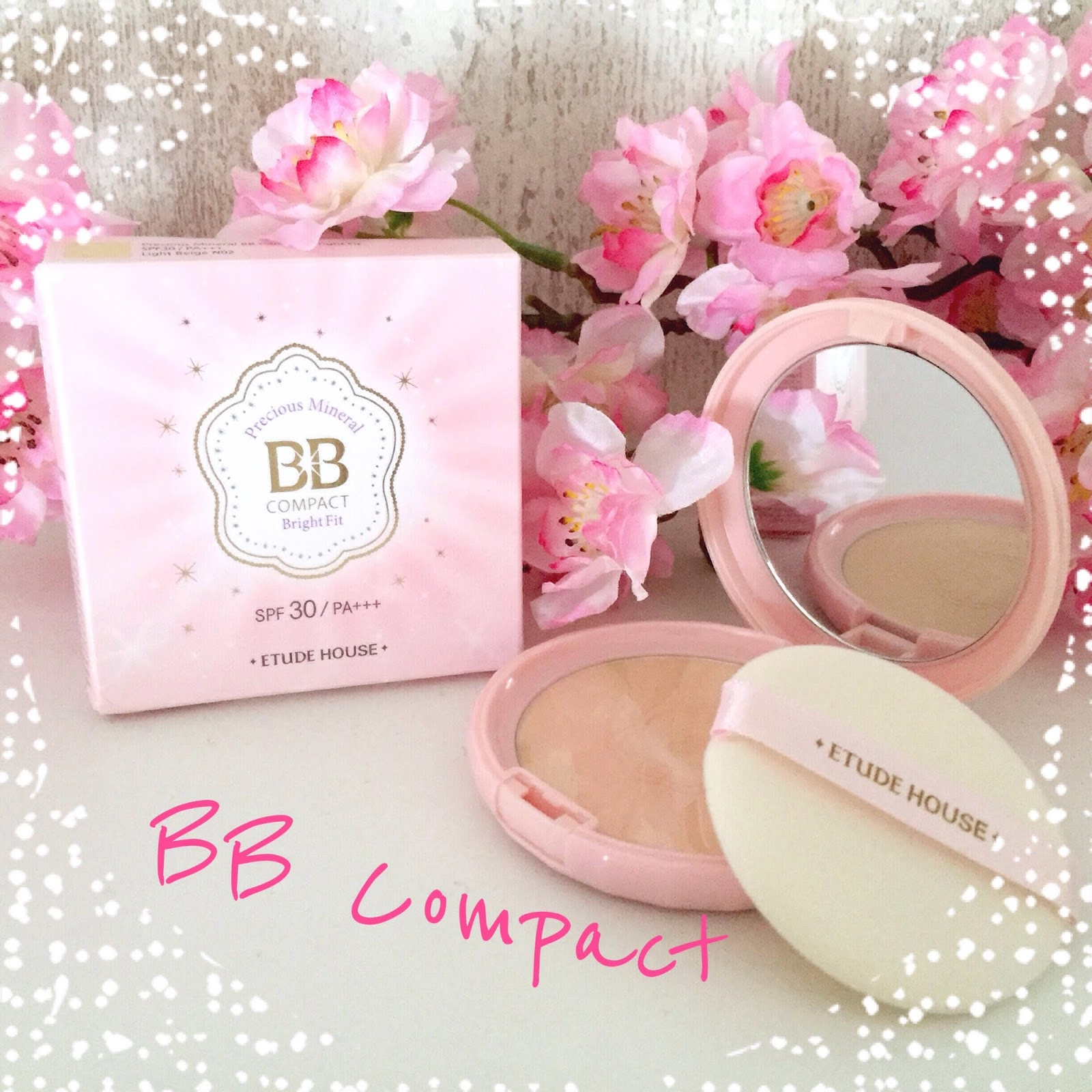 Dansusshi: REVIEW * ~ Etude House Precious Mineral BB Compact ~ *