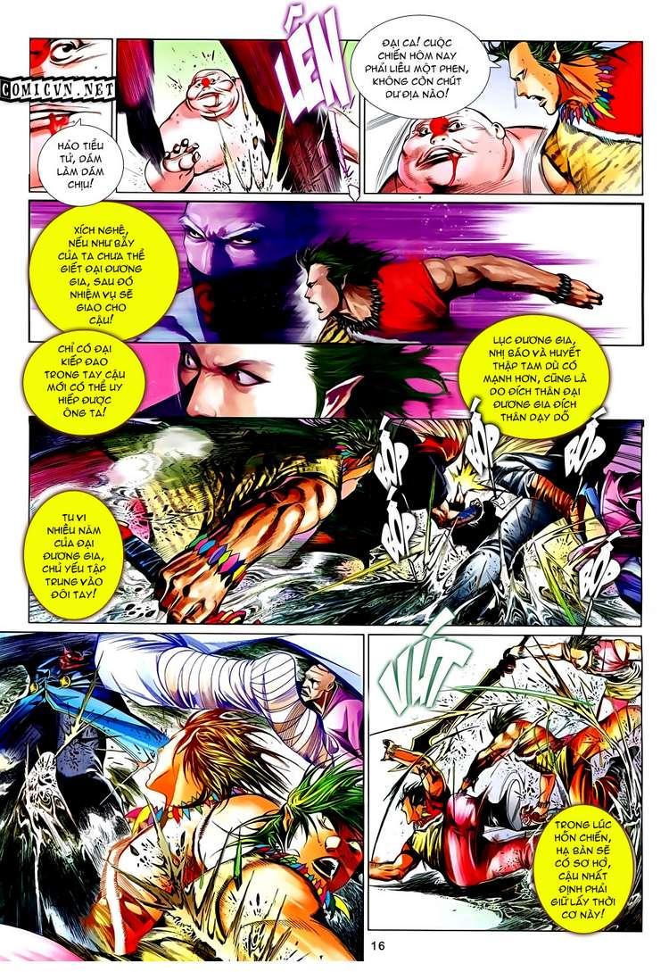 Phong Vân chap 632 Trang 16 - Mangak.info