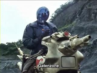 Motor Dan Pedang Milik Musuh Kamen Rider Black/RX