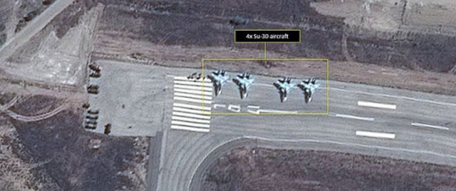 al-Assad International Airport in Syria, Sept. 19, 2015