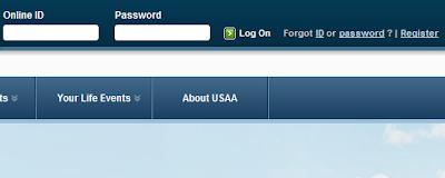 USAA login