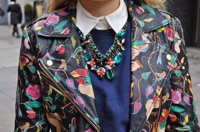 Mai Inspiration Leather Jacket Painting