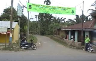 Persimpangan Kampung Karo dengan Jalan Besar Patumbak