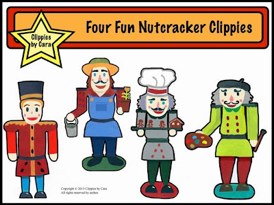 http://www.teacherspayteachers.com/Product/Four-Fun-Nutcracker-Clippies-1002282
