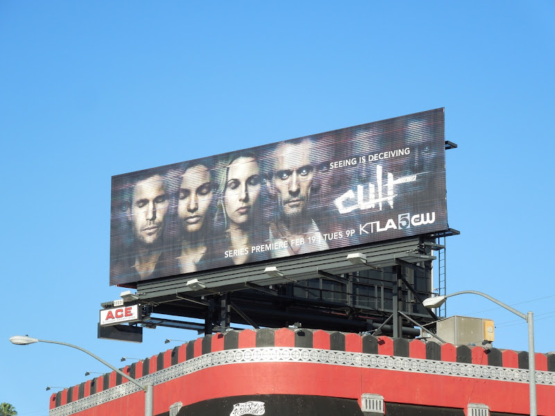 Cult TV billboard
