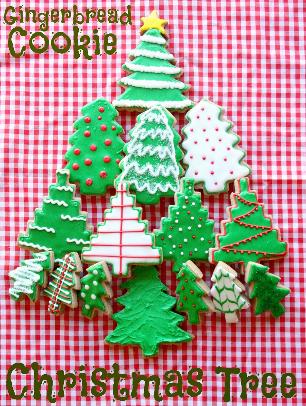 Munchkin Munchies: Gingerbread Cookie Christmas Tree