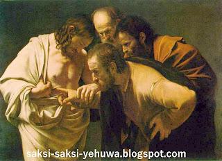 ajaran sesat menara pengawal kebangkitan yesus secara roh