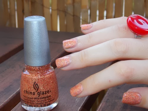 flying south china glaze swatch polish blog beauté psychosexy