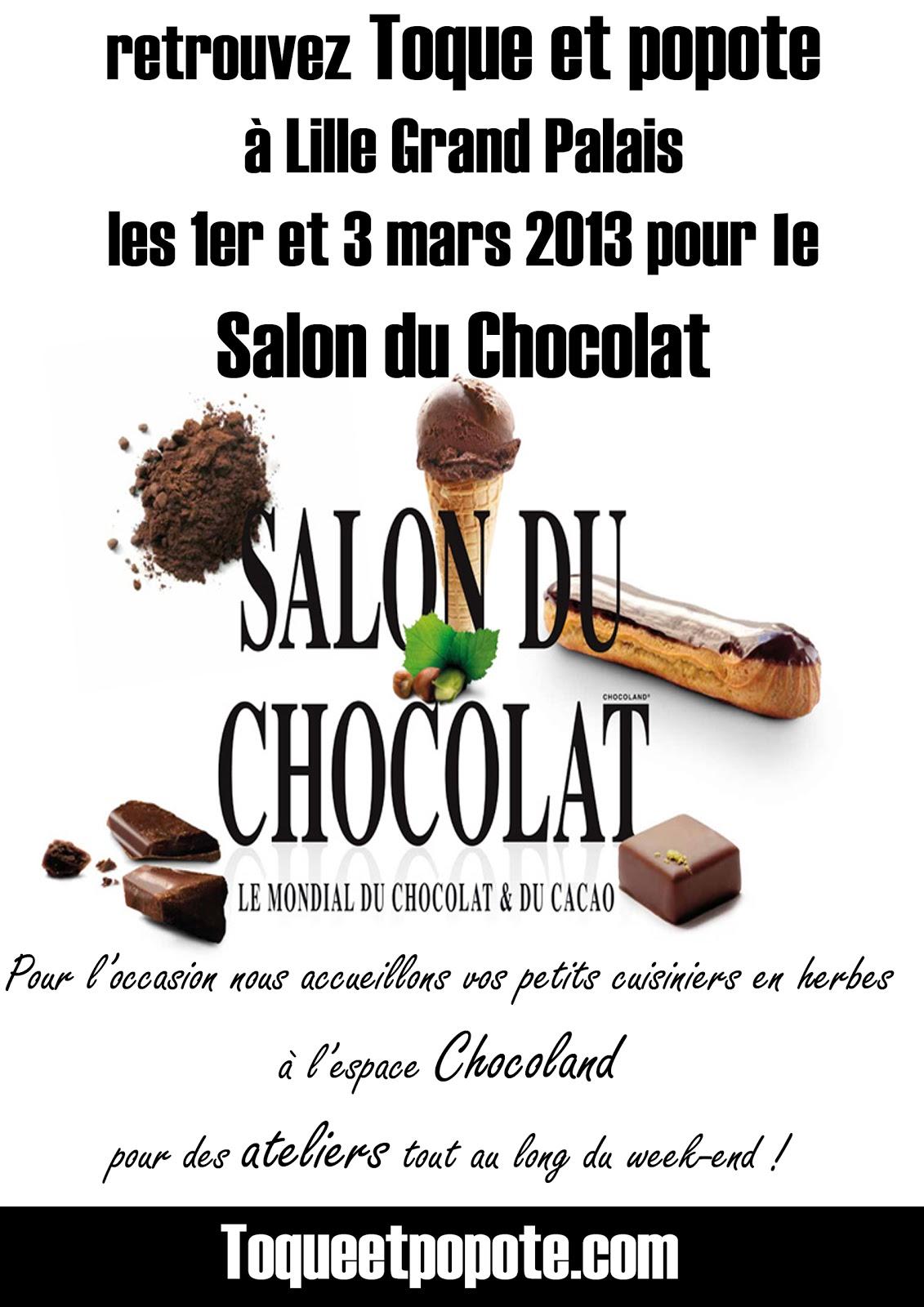 Entr e gratuite salon du chocolat lille for Place gratuite salon de l agriculture