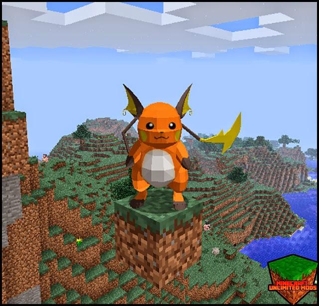 Pixelmon Mod pokemons