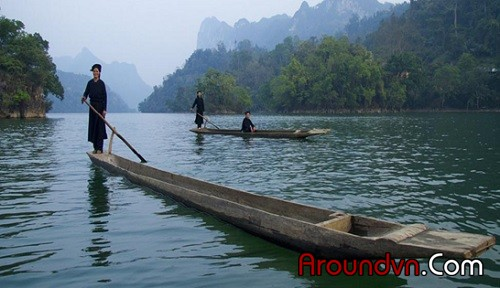 Ba Be Lake - the ecotourism area