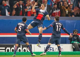 Video Cuplikan Gol PSG VS Benfica 3-0