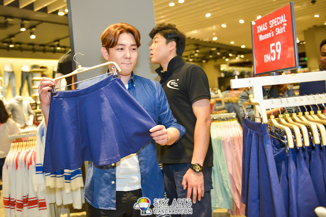 A woman skirt hand picked by KangIn