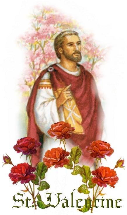 St. Valentine and St. Marius helped the victims of persecution of Roman