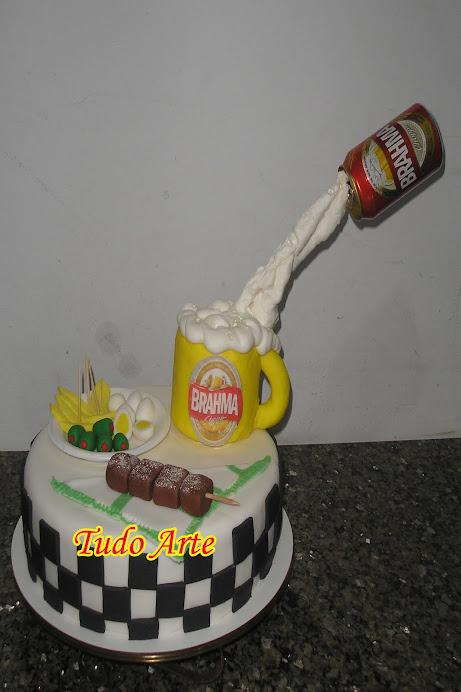 BOLO CANECA DE CHOOP BRAHMA!!