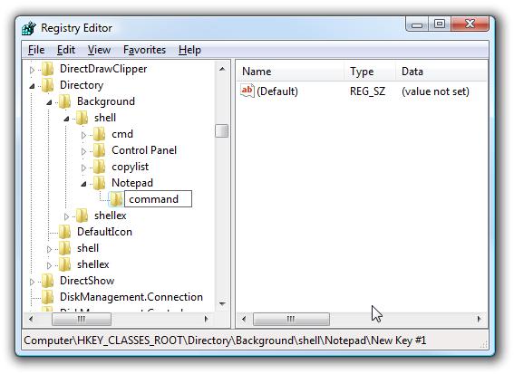 Cara Menambahkan Program Pada klik-Kanan Windows