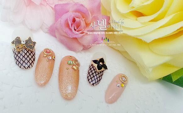 sara nail korean cute art