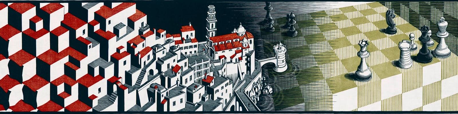 Discettazioni erranti atrani del 1931 nelle opere di escher for Escher metamorfosi