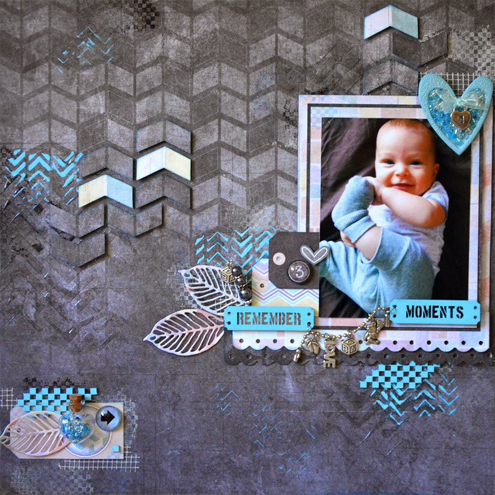 Scrapbooking Baby Layouts