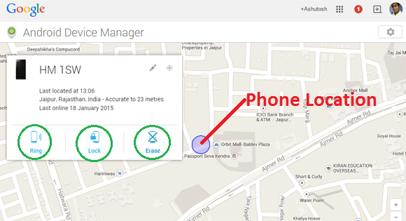 phone location tracking