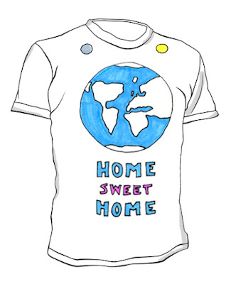 home sweet home tshirt male