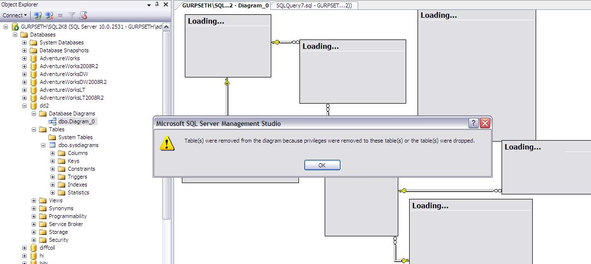 Ms sql server how to take backup of database diagrams so as we can see we can export the database diagram but we also have to export objects ith which database diagram objects are associated ccuart Choice Image