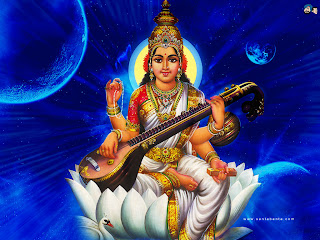 picture collection hindu goddess saraswati maa wallpapers