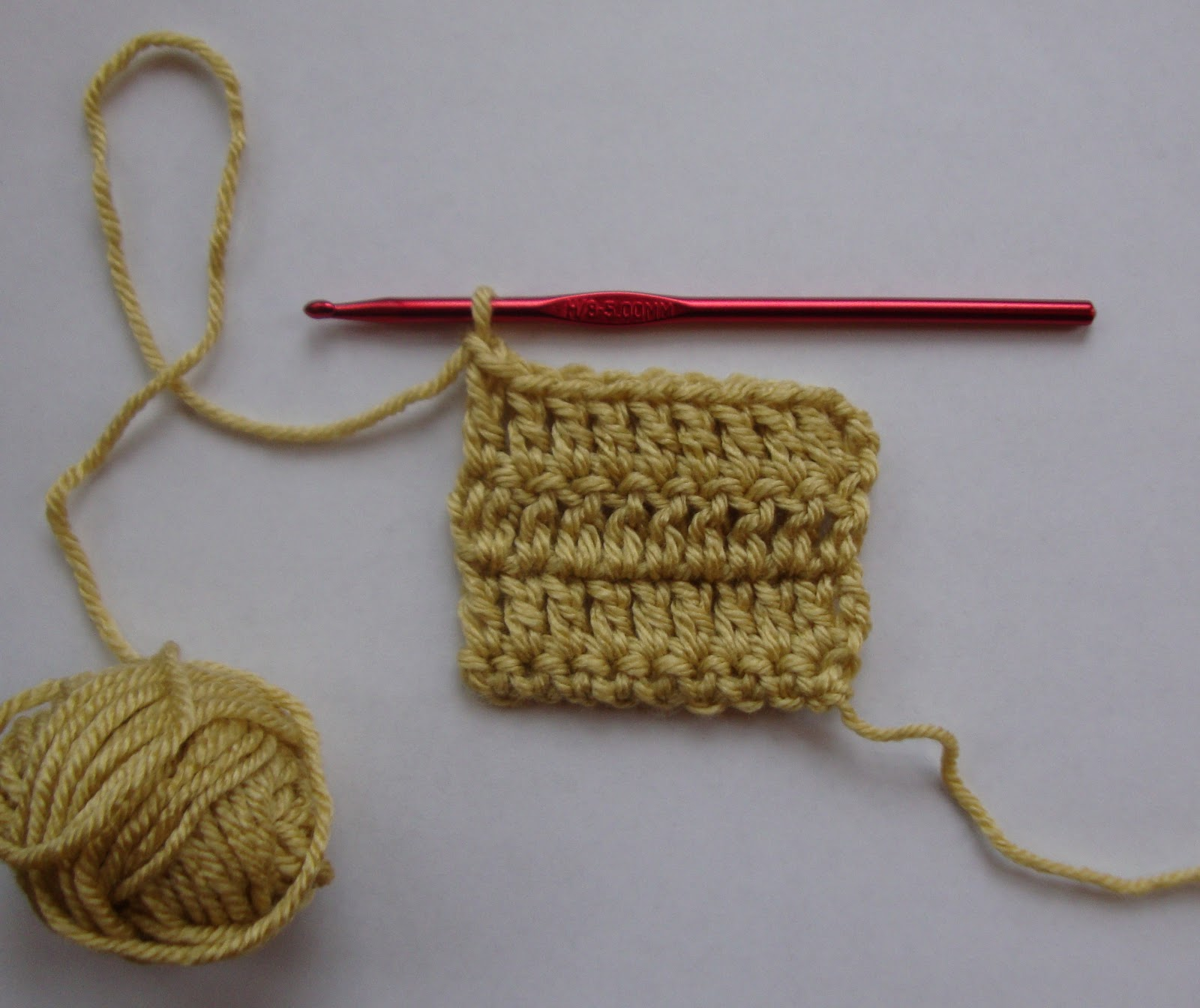 Crochet Stitches Reverse Sc : row or round of reverse single crochet rev sc rsc