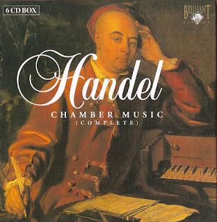 Georg Friedrich Händel: Die komplette Kammermusik (L'Ecole d'Orphée, 1991)
