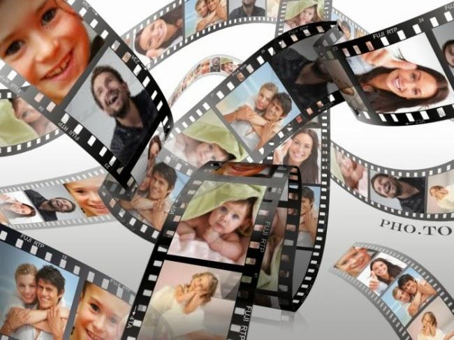 Montagem de fotos rolo de filme molduras para fotos for Programa decoracion online