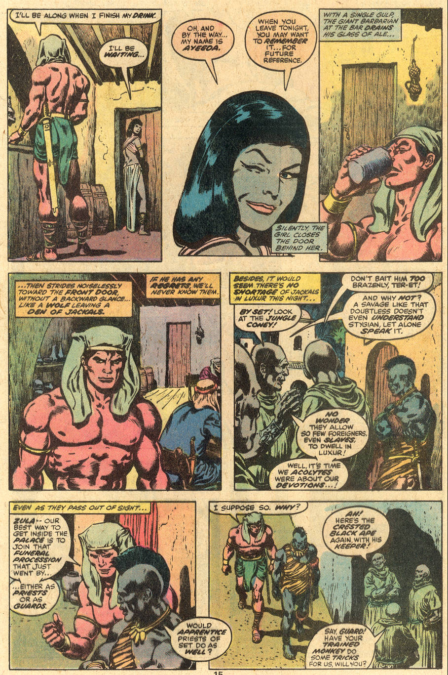 Conan the Barbarian (1970) Issue #86 #98 - English 9