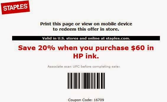 graphic about Staples Coupons Printable referred to as Staples Printable Discount codes September 2015
