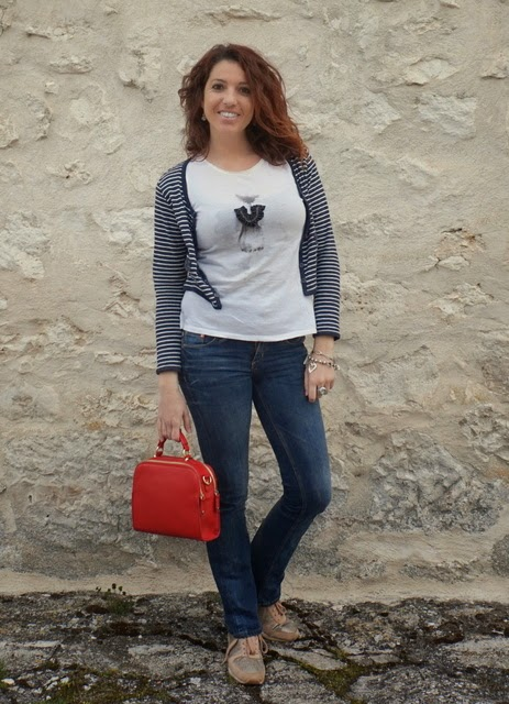 look informal marinero