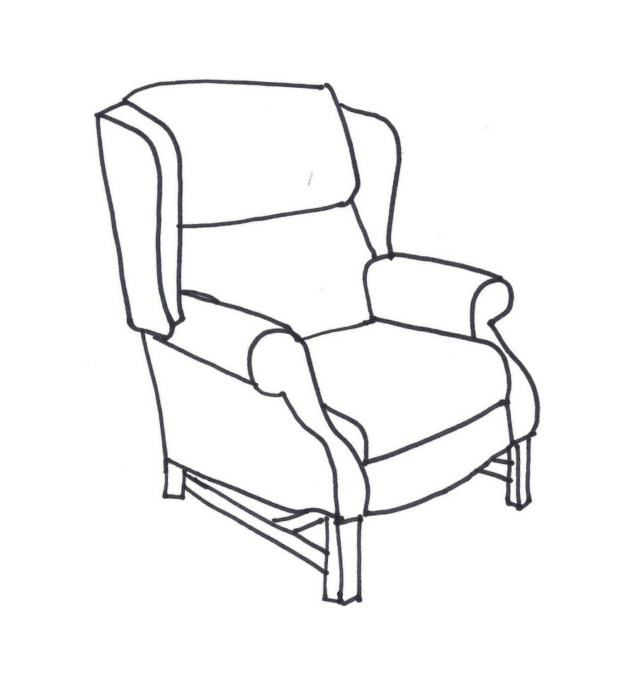 Line Drawing Chair : Northdixie designs june