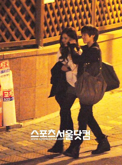 SHINeeジョンヒョン&女優シン・セギョン 熱愛発覚時の写真 画像