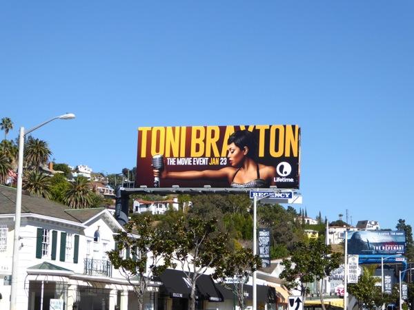Toni Braxton TV movie billboard