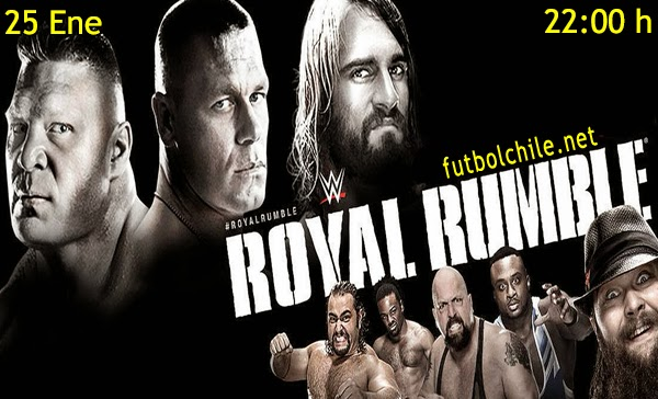WWE Royal Rumble en Español Domingo 25 de Enero 2015 - 22:00 hrs