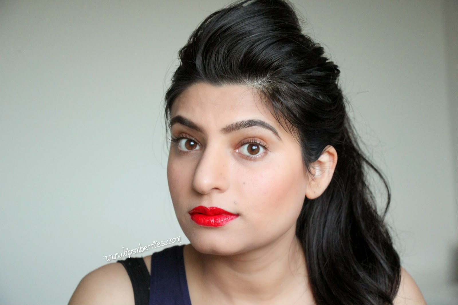 best glossy red lipstick