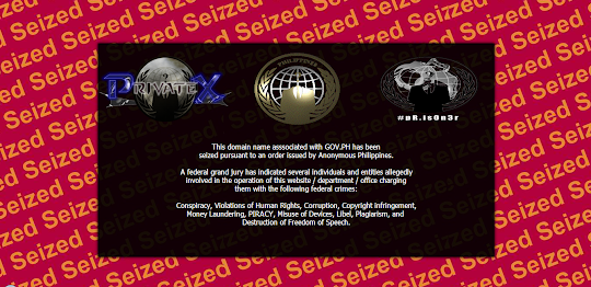 NTC website defaced by Anonymous Hackers