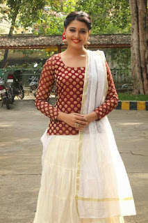 Tamil Actress Sandra Amy Picture Gallery at Thoppi Movie Audio Launch 8.JPG