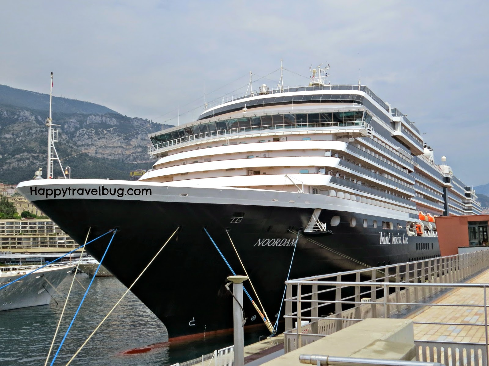 The Noordam cruise ship with Holland America