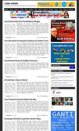 Tricks Collections SEO Friendly Blogger Template