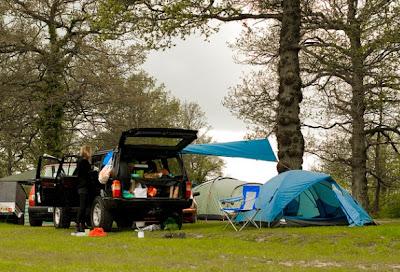 Recetas de cocina para acampar Camping