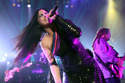 Evanescence wins loudwire awards rock godess of the year