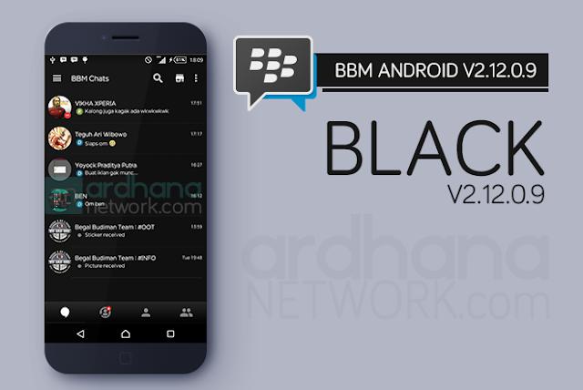 BBM Black V2.12.0.9 - BBM Android V2.12.0.9