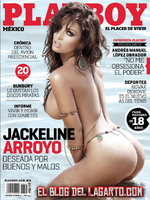 Revista Jackeline Arroyo Playboy Mexico Marzo 2012