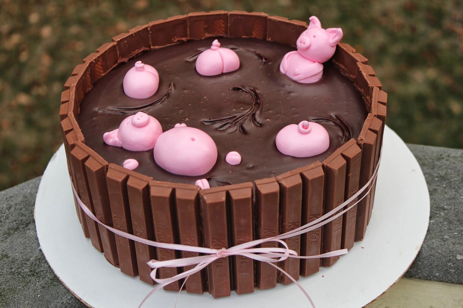 Hanna's Desserts: pig sty cake