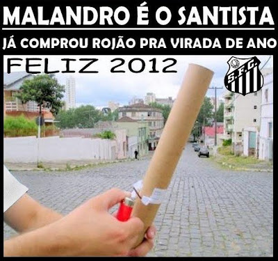 Malandro é o Santos