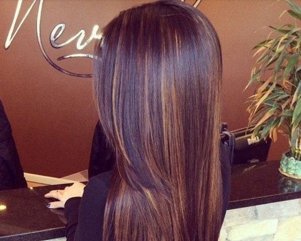 warna rambut coklat cewek